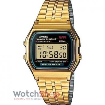 Ceas Casio RETRO A159WGEA-1EF Gold