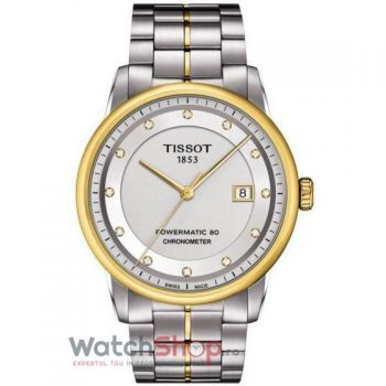 Ceas Tissot T-Classic Luxury T086.408.22.036.00 Powermatic 80 Automatic COSC